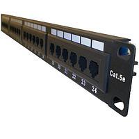 "LinkBasic PND24-UC5E Коммутационная панель 5e кат., UTP 19"",1U, 24хRJ45, фото 1"