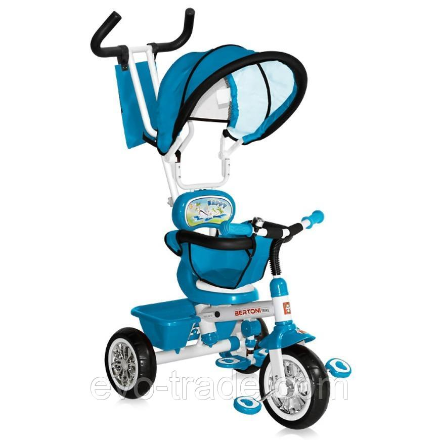 Велосипед 3 в 1 Bertoni B313A (Голубой)