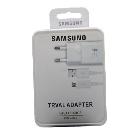Зарядное устройство Samsung Adaptive Fast Charger Charger Micro USB, фото 2