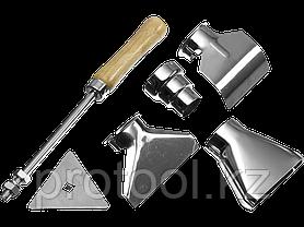 Фен технический (строительный), ЗУБР Профессионал ФТ-П1600, керамич изолят, коробка с насадками, 2 режима раб., фото 2