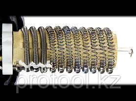 Фен технический (строительный), ЗУБР Профессионал ФТ-П1600, керамич изолят, коробка с насадками, 2 режима раб., фото 3