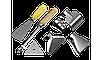 Фен технический (строительный), ЗУБР Профессионал ФТ-П1800 К, керамич изолят, электр регул темп-ры, 2 режима:, фото 3