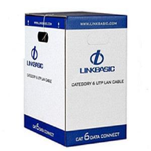 Кабель Linkbasic CLA04-UC6-9016 Cat 6 UTP 4 пары,внутренней прокладки , RAL9016, бухта 305м