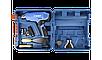 Фен технический (строительный), ЗУБР Профессионал ФТ-П2000 М2ДК, ЖК-дисплей, память темп-ры, 2 режима: 80-600, фото 2
