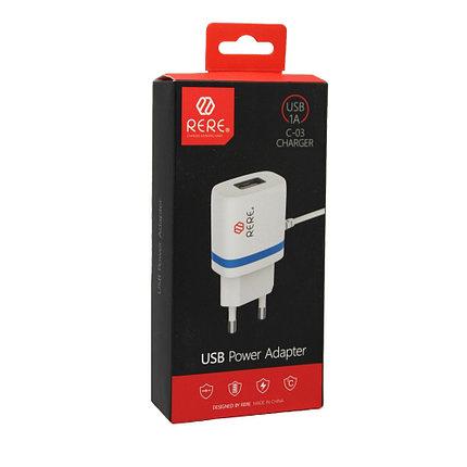 Зарядное устройство Rere С-03 Micro USB, фото 2