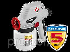 Краскопульт (краскораспылитель) электрический, ЗУБР КПЭ-100, 0.8 л, краскоперенос 0-300мл/мин, 60DIN