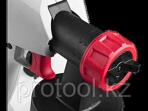 Краскопульт (краскораспылитель) электрич, ЗУБР КПЭ-350, HVLP, 0.8л, краскоперенос 0-700мл/мин, вязкость краски, фото 2