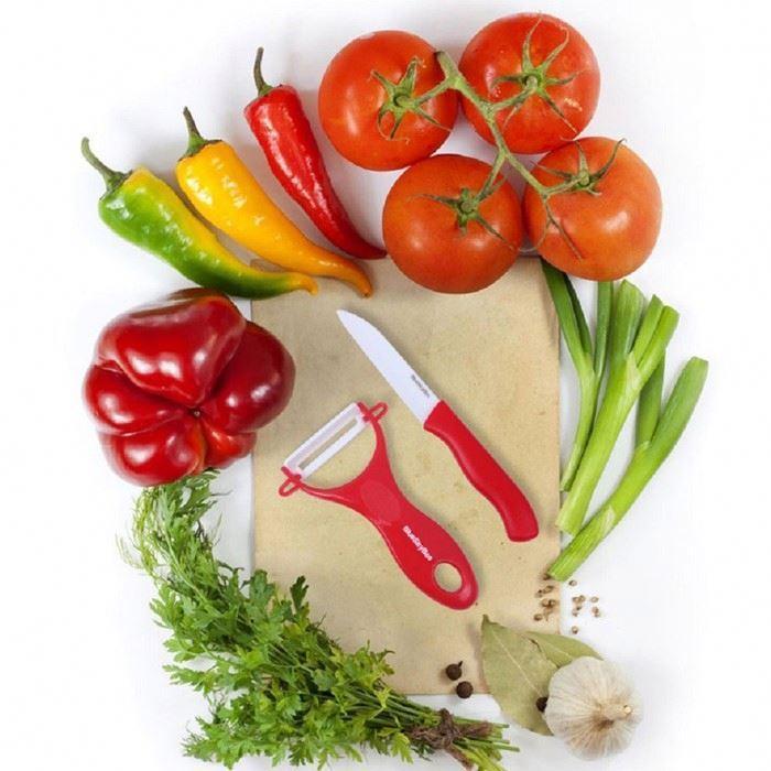 Набор керамических ножей+ овощечистка