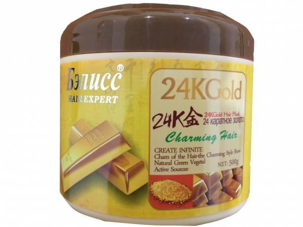 Маска для волос 24 каратное золото - Бэлисс