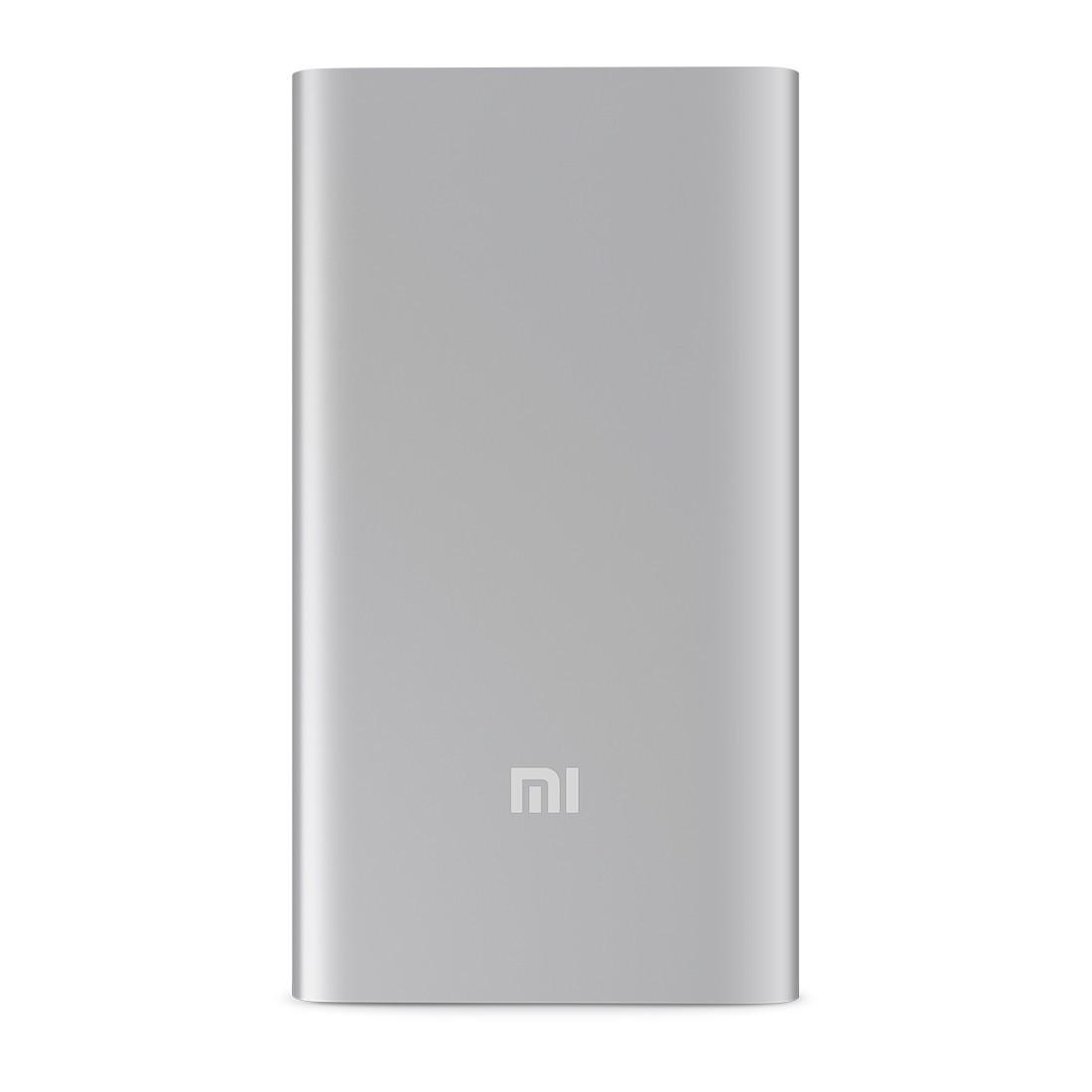 Портативное зарядное устройство, Xiaomi, Mi Power Bank NDY-02-AM (VXN4096GL) 5000 mAh, Выход USB: 1*