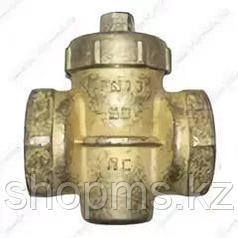 Кран пробковый муфтовый бр. ф25