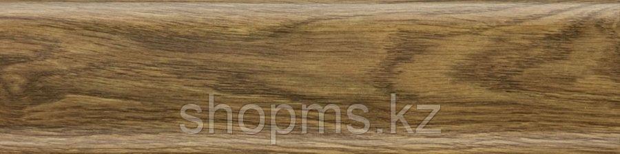 Плинтус с мягким краем Salag NGF019 Дуб Старый 2500*56 мм, фото 2