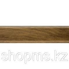 Плинтус с мягким краем Salag NGF010 Орех 2500*56 мм