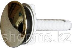Пробка д/раковины хром СУ-04061