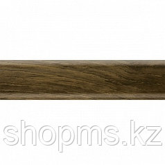 Плинтус с мягким краем Salag NGF023 Орех Модена 2500*56 мм