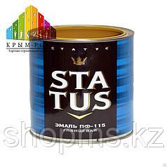 Эмаль ПФ-115 STATUS /голубая 1,8кг