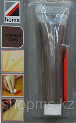 Паста для восстановления паркета и ламината Homastic 50 гр. темный орех, фото 2