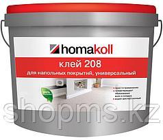 Клей универсальный контактный для ПВХ-винила морозостойкий 208 Хомакол 3л./4кг