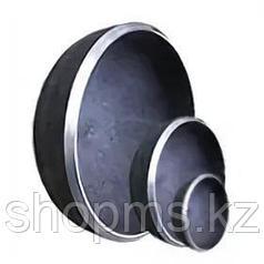 Заглушка стальная эллиптическая 89*4,0 DN80