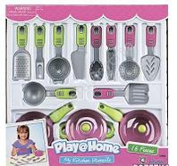 """Игровой набор посуды """"Моя кухня"""" 16 предметов"""