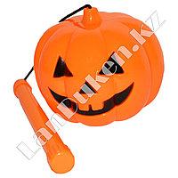 Тыква светящаяся для Хэллоуина закрытая