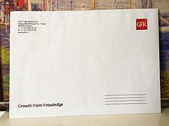 Печать на конвертах в Алматы А5-формат, 4+0