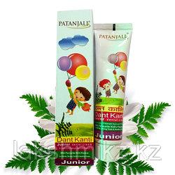 Детская зубная паста, Dant Kanti Junior Dental Cream, Patanjali