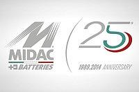 25 лет успеха MIDAC!