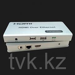 Удлинитель HDMI HDES02-K до 120м с передачей USB