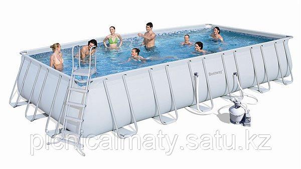 Каркасный бассейн Bestway 56475 (732x366x132) песочный фильтр