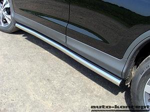 Пороги труба D 60,3 Honda CR-V 2,4 2012-2015