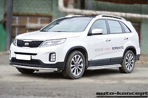 Защита передняя D 60,3 KIA Sorento 2012-