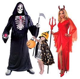 Костюмы, парики и аксессуары для Хэллоуина