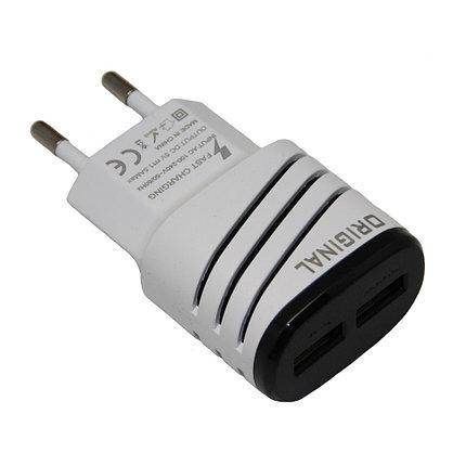 Зарядное устройство Original 2 USB, фото 2