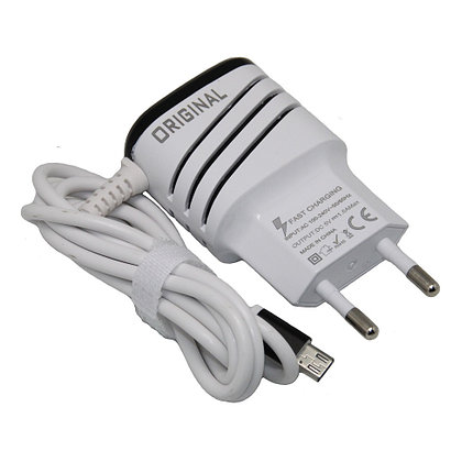 Зарядное устройство Original 2 USB Micro, фото 2