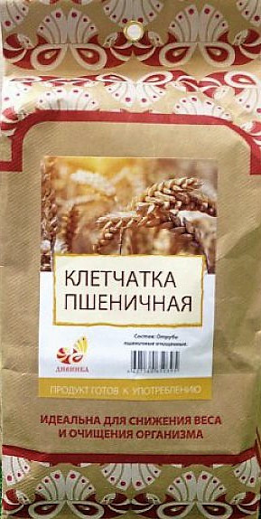 Клетчатка пшеничная, 300гр [Дивинка]