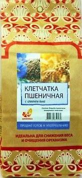 Клетчатка пшеничная с семенами льна, 300гр [Дивинка]