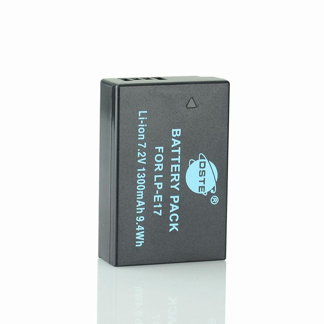 """Аккумуляторы LP-E17 от """"DSTE"""" на Canon EOS M3 750D 760D 8000D"""