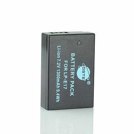 """Аккумуляторы LP-E17 от """"DSTE"""" на Canon EOS M3 750D 760D 8000D, фото 2"""