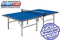 Теннисный стол Start Line Training 22 мм, без сетки, на роликах, регулируемые опоры, фото 1