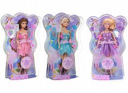 8135 Defa Lucy Кукла Фея-бабочка в оригинальной коробке, 29см, в асс. 3 вида