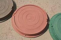 Люк канализационный (комплект)