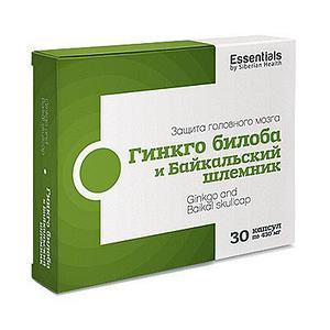 Гинкго билоба и байкальский шлемник Essentials by Siberian Health