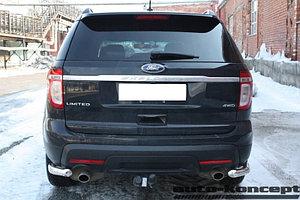 Защита задняя уголки D 60,3 Ford  Explorer 2011-2015-