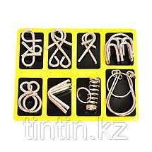 Металлические головоломки, 8 шт в комплекте, фото 2