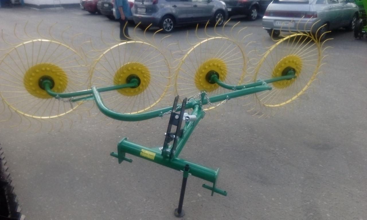 Грабли ворошилки 2.4м производитель Ekiw