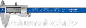 Штангенциркуль ЗУБР, ШЦЦ-I-150-0,01,цифровой, нерж. сталь, металлический корпус,150мм, шаг измерения 0,01мм