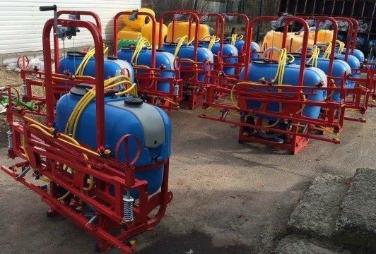 Опрыскиватель 200 литров с захватом 6 метров D-POL, фото 2