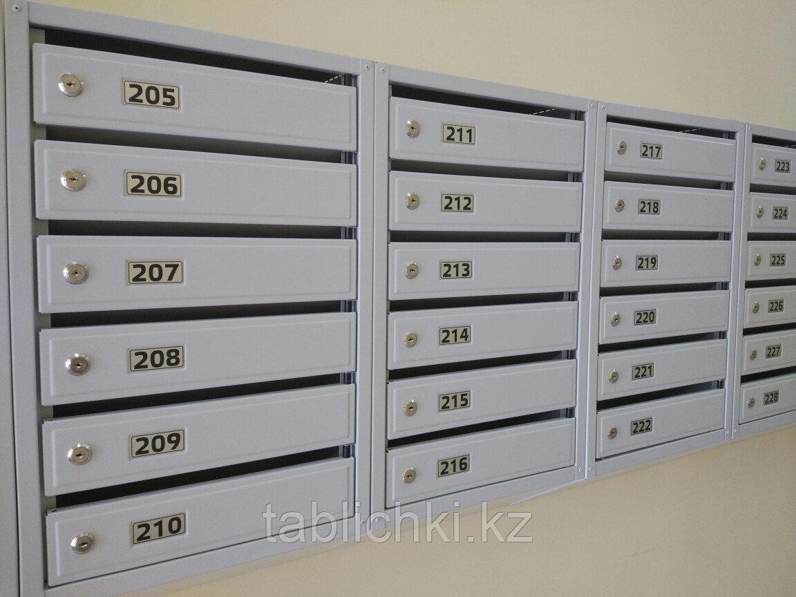 Изготовление табличек, номерков на почтовые ящики