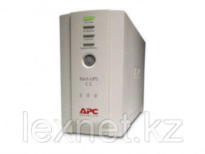 Источник бесперебойного питания/UPS APC/BK500EI/Back/500 VА/300 W